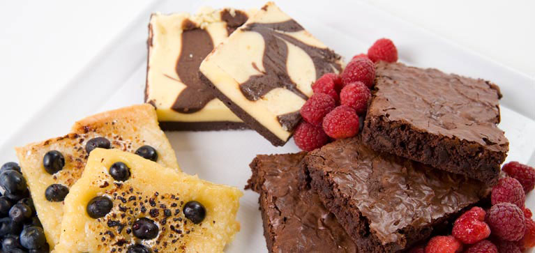Ravinia Dining brownies