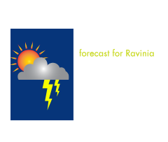 RAVINIA WEATHER - Check the National Weather Service forecast for Ravinia. Ravinia is an open-air venue that cannot guarantee refuge for guests should severe weather occur.