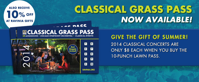 Classical grass pass on sale now